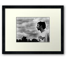 Mike Framed Print