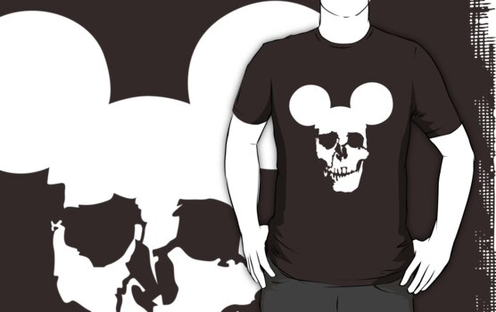 Mickey Skull by natrule