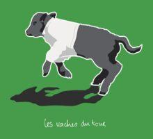 Les Vaches du Tour - kids' wear (dark) Kids Clothes