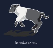 Les Vaches du Tour - kids' wear (dark) by LesVaches