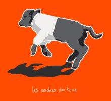 Les Vaches du Tour - kids' wear (dark) Kids Tee