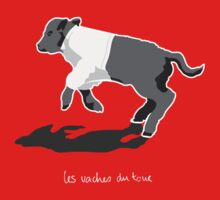 Les Vaches du Tour - kids' wear (dark) Kids Clothes