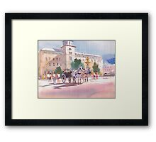 Lets go for a ride Framed Print