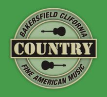 Bakersfield Country Music Kids Clothes