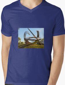 SUNDIAL Mens V-Neck T-Shirt