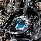 third eye.... ancient mask closeup by banrai