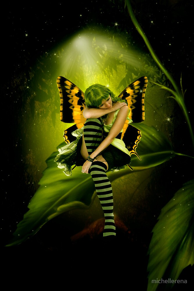 Emerald Faerie by michellerena