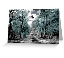 The Angel of Death returns Greeting Card