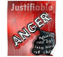 Justifiable anger at psychiatric abuse Poster