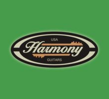 Old Harmony Guitars Oval Kids Clothes