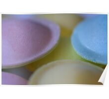 Pastel Sugary Goodness Poster