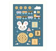 Give a Mouse a Cookie  Art Print