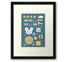 Give a Mouse a Cookie  Framed Print