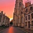 A Minster Sunset by Mat Robinson