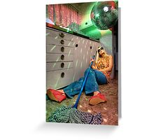 Disco Kitchen Greeting Card