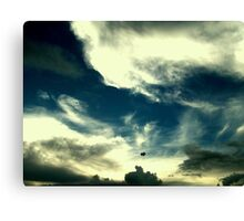 Painting on the sky Canvas Print
