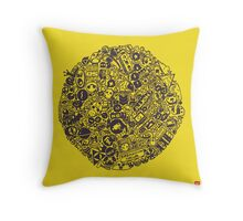 Pop Cult Throw Pillow