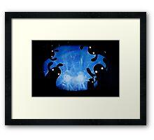 Monsters in headlights Framed Print