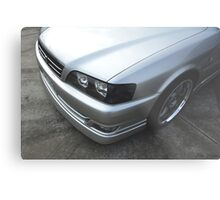 Silver Chaser Metal Print