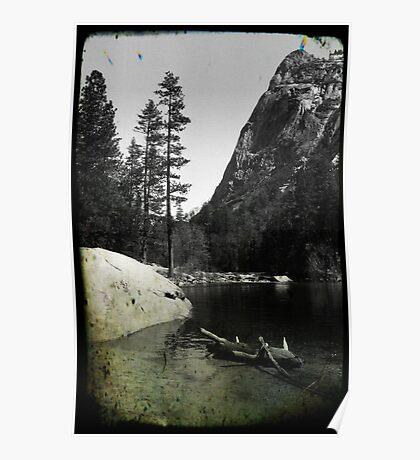 Mirror Lake 4 - Yosemite National Park - Vintage Poster