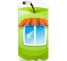 An apple with a window iPhone Case/Skin