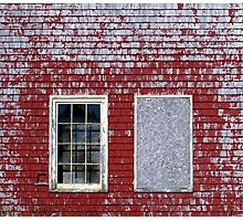 Two Old Windows Photographic Print