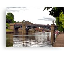 Skeldergate Bridge - York. Canvas Print
