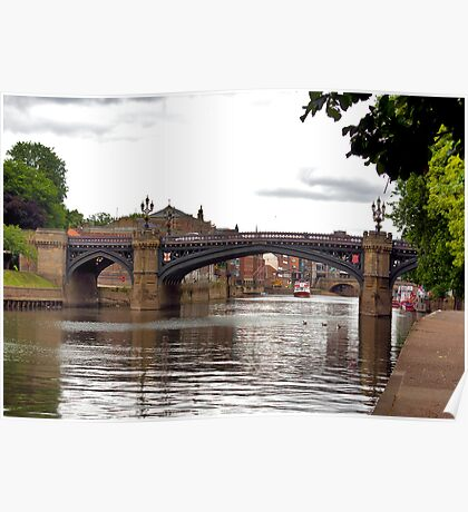 Skeldergate Bridge - York. Poster