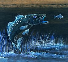 Trout Attack by bill holkham