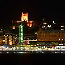 Newcastle by Night by bazcelt