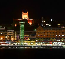 Newcastle by Night by bazcelt