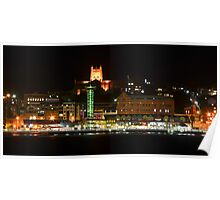 Newcastle by Night Poster