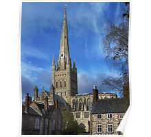 Norwich Cathedral. Poster