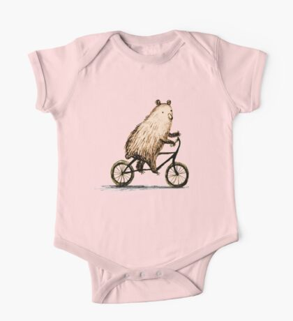 Cycling Bear One Piece - Short Sleeve