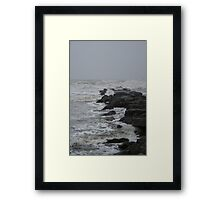 Stormy Waters Framed Print
