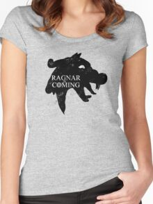 Ragnar is Coming Women's Fitted Scoop T-Shirt