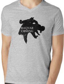 Ragnar is Coming Mens V-Neck T-Shirt