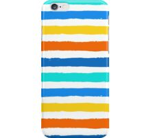 Brush Strokes Colorful Seamless Pattern iPhone Case/Skin
