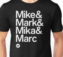 BBG021B — Fab Four (Reversed) Unisex T-Shirt