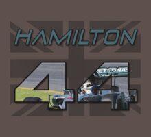 Lewis Hamilton Mercedes AMG Petronas F1 Shirt by VelocityDesigns