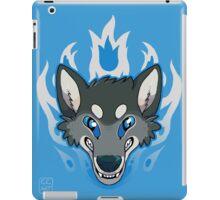 Fiery Wolf iPad Case/Skin