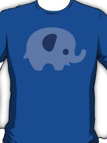 Baby Elephant - blue T-Shirt