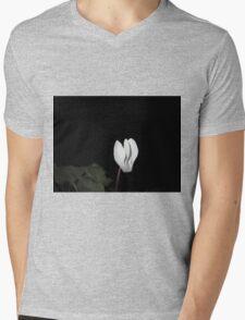 cyclamen at night Mens V-Neck T-Shirt