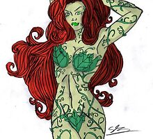 coloured poison ivy by zenko44