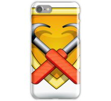 two hammers and shield iPhone Case/Skin