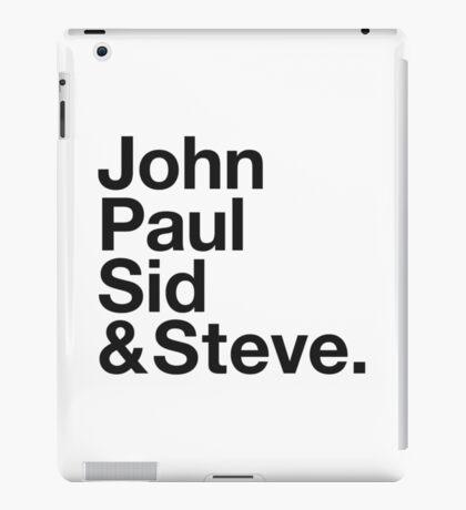 JOHN, PAUL, SID & STEVE. iPad Case/Skin