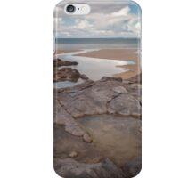 Broughton Bay rockpool Gower iPhone Case/Skin
