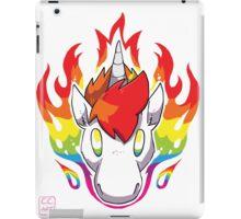 Rainbow Flames iPad Case/Skin