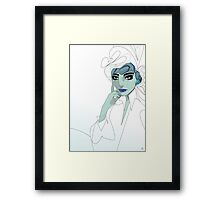 Abstract Girl. Framed Print