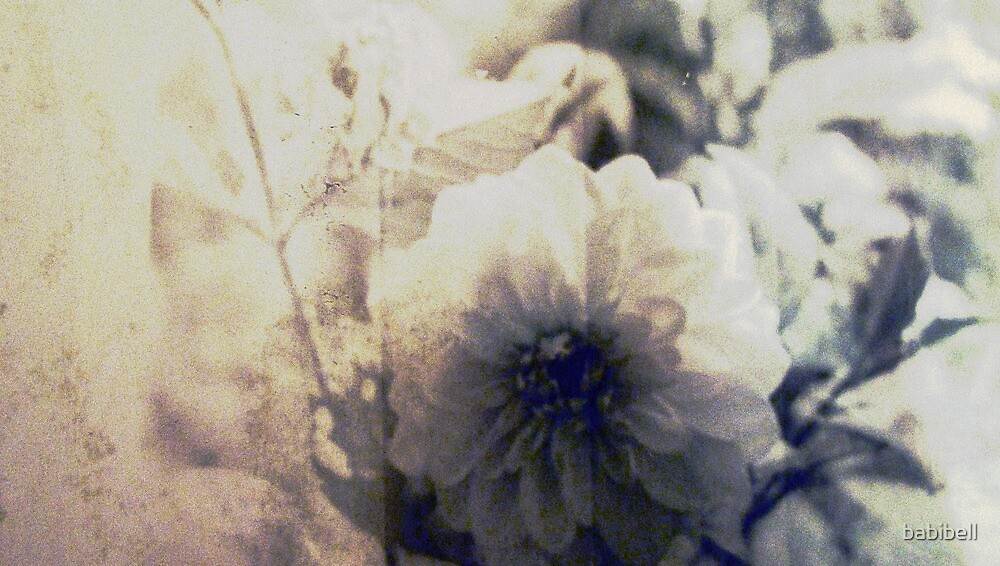 Vintage Flower 1 by Claire Dimond